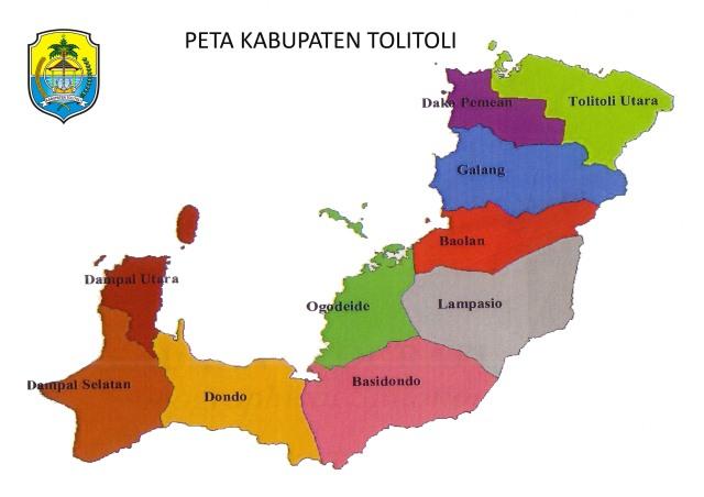 PETA KABUPATEN TOLITOLI